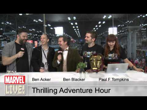 Paul F. Tompkins, Ben Acker, Ben Blacker Talk All Things Comics at New York Comic Con 2014