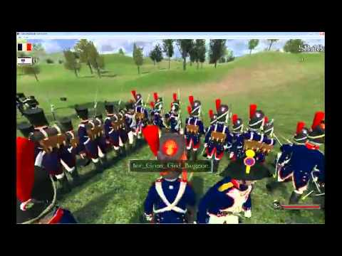 Mount&Musket forming a giant square against cavalry charge!