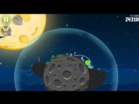 Angry Birds Space HD First launch and Pig bang All levels