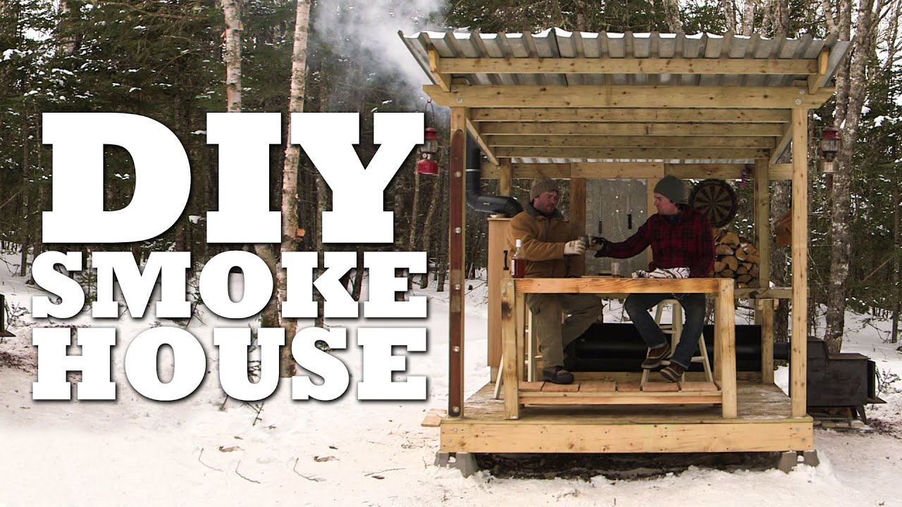 How to build a smokehouse youtube for Diy house plans