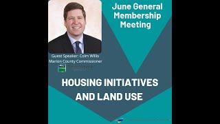 June General Membership Meeting - Guest Speaker Commissioner Colm Willis