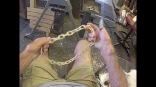 Carving Continuous Neck Chain From One Piece Of Wood By Darryl Easter