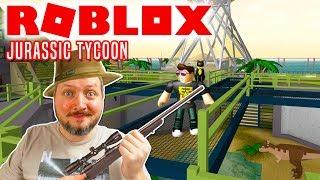 Kæmpe Dinopark! - Roblox Jurassic Tycoon Dansk Ep 1