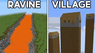 Ranking Minecraft's Most Unbelievable Seeds...