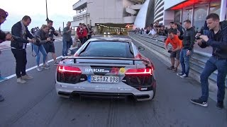 Audi R8 V10 Plus w/ Akrapovic Exhaust System!