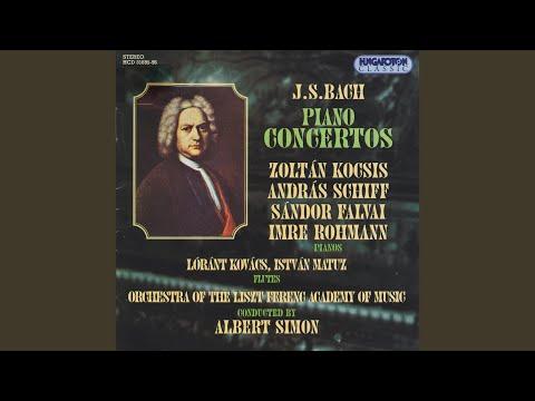 Concerto in D minor for Three Pianos & Orchestra I. [Allegro] mp3