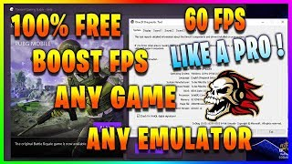 [Solved] 100% FREE BOOST FPS IN ANY GAME ANY EMULATOR! Make Your PC FASTER!