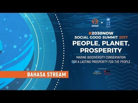 LIVESTREAM BAHASA: Social Good Summit Jakarta 2017