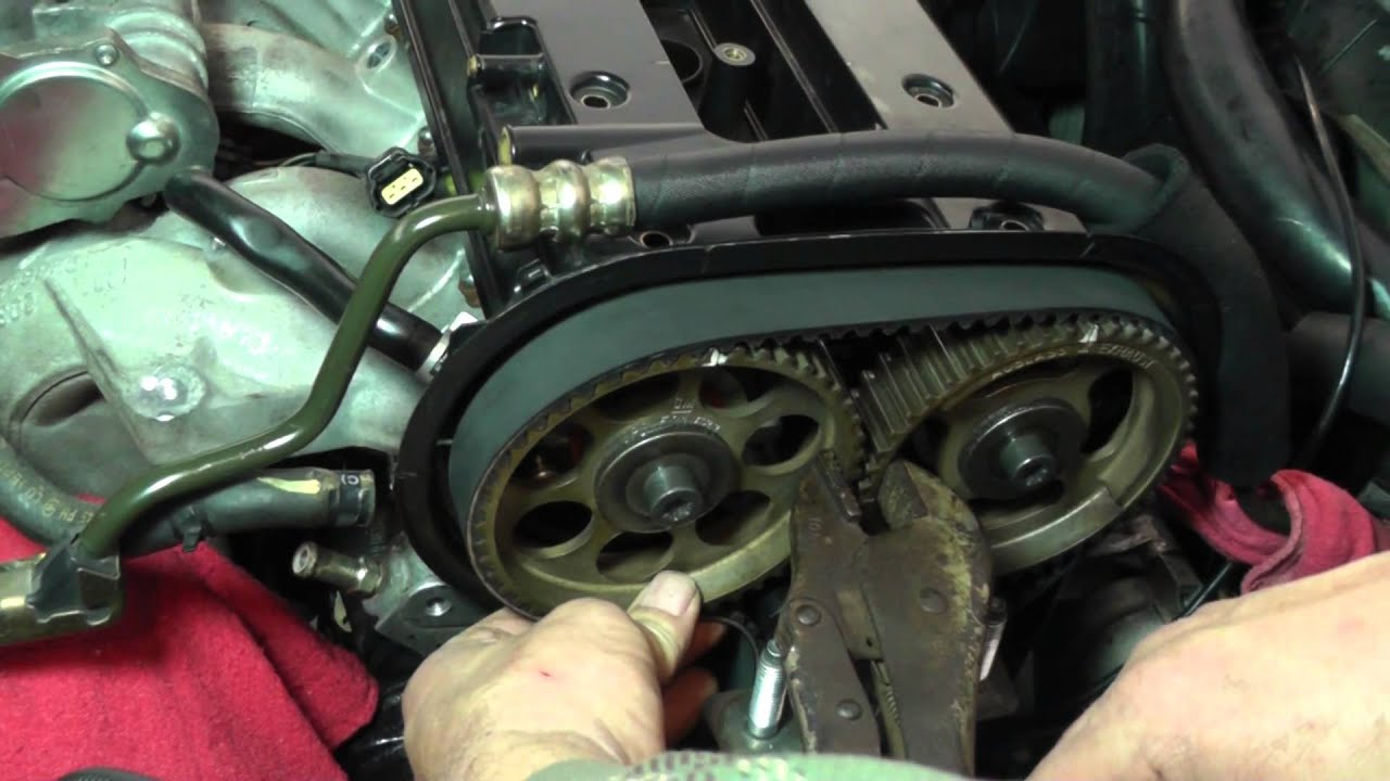 small resolution of suzuki forenza timing belt replacement part 3