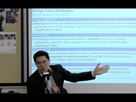 The Asian Hedge Fund Industry and Career Path