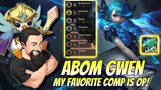 Abom Gwen - My favorite comp is OP! | TFT Reckoning | Teamfight Tactics