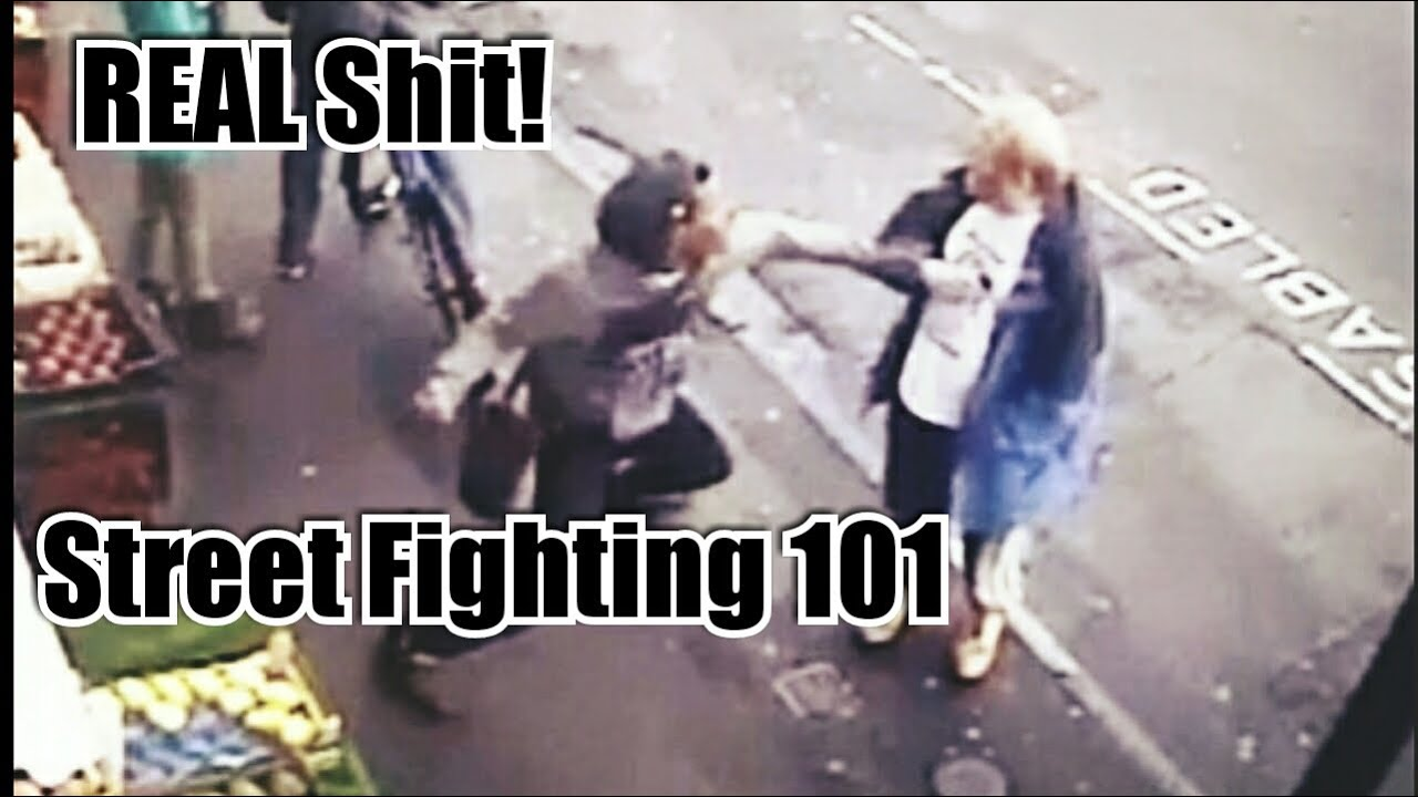 Street Fighting - How to know when someone is going to hit you!