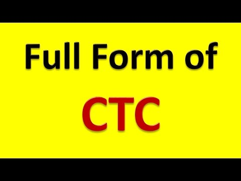Full Form of CTC - YouTube