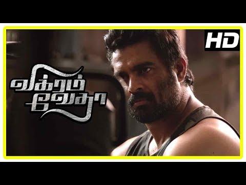 Vikram Vedha Movie Scenes | Madhavan Tries To Solve Vijay Sethupathi's Puzzle | Sugunthan Shot