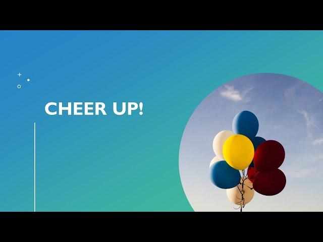 📖 Cheer Up! · 201112 Bible Study · Pastor Jerome Pittman