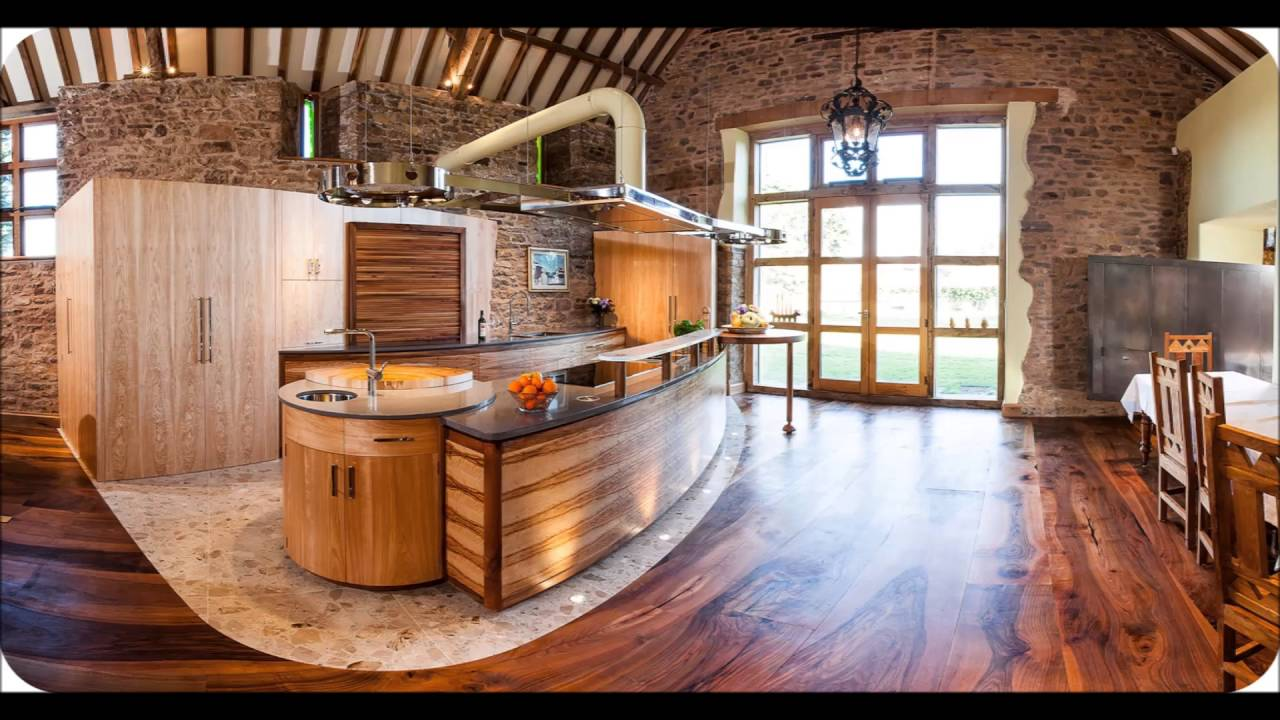 Modern Kitchen With Bamboo Flooring Ideas