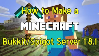 Download Minecraft Premade Spigot Bukkit Server Mega - Minecraft server erstellen spigot
