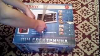 электропечь saturn st ec 1075 распаковка