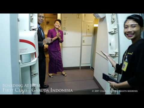 Garuda Indonesia Boeing 777-300er First Class