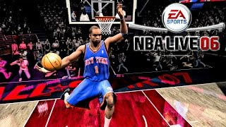 NBA LIVE 06 - (PS2) - 60FPS HD | Dunk Contest | J.Smith vs A.Stoudemire vs V.Carter vs S.Francis