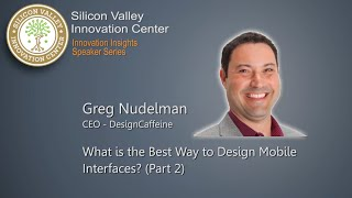 (Part 2) Greg Nudelman: What Is The Best Way To Design Mobile Interface