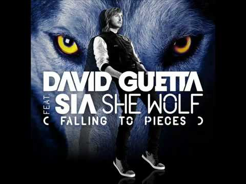 David Guetta Feat Sia  She Wolf Falling To Pieces Lyrics