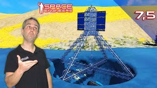 Space Engineers T2 #7,5 🏛️Monumento y Proyeccion🏛️ RELAX MODE. Gameplay Español