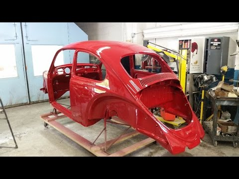 Clic Vw Bugs 65 Body Off Build A Bug How To Paint Your Beetle