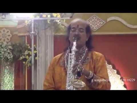 Bho sambho = Kadri Gopalnath = Saxaphone
