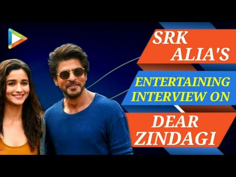 Shah Rukh Khan | Alia Bhatt | Dear Zindagi | Full Interview | Rapid Fire | Quiz