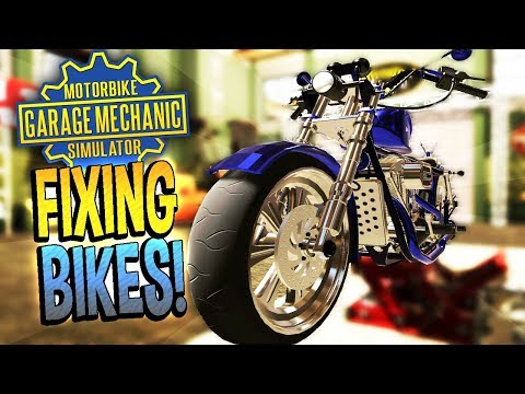 Motorbike Garage Mechanic Simulator - EASY MONEY HACK - Motorbike Garage Mechanic Simulator Gameplay