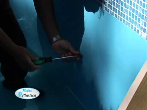 How to install a Wooden Pool Part 8/13 - Cutting in Pool Fittings - DIY