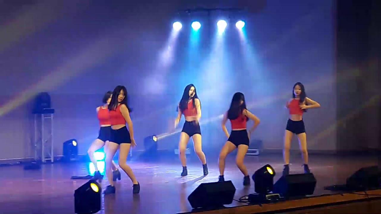 창원고 축제 토월고 댄스팀 1 (INTRO + 롤러코스터)