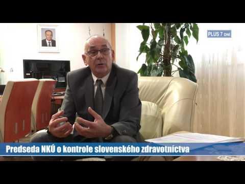 Predseda NKÚ o kontrole slovenského zdravotníctva