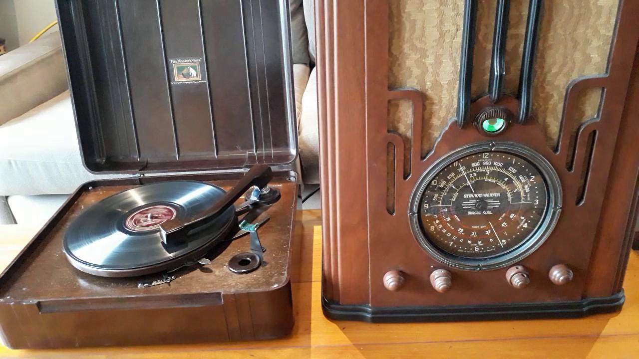 Hmv Electric Gramophone