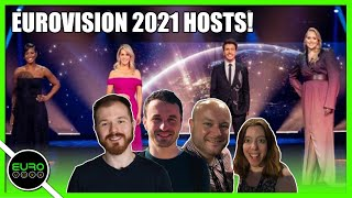EUROVISION 2021: HOSTS ARE BACK (INCLUDING NIKKIETUTORIALS!) | REACTION