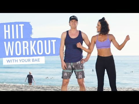 Can your boo handle a Tone It Up workout? BOBBY CALL HIIT Couples Routine!!
