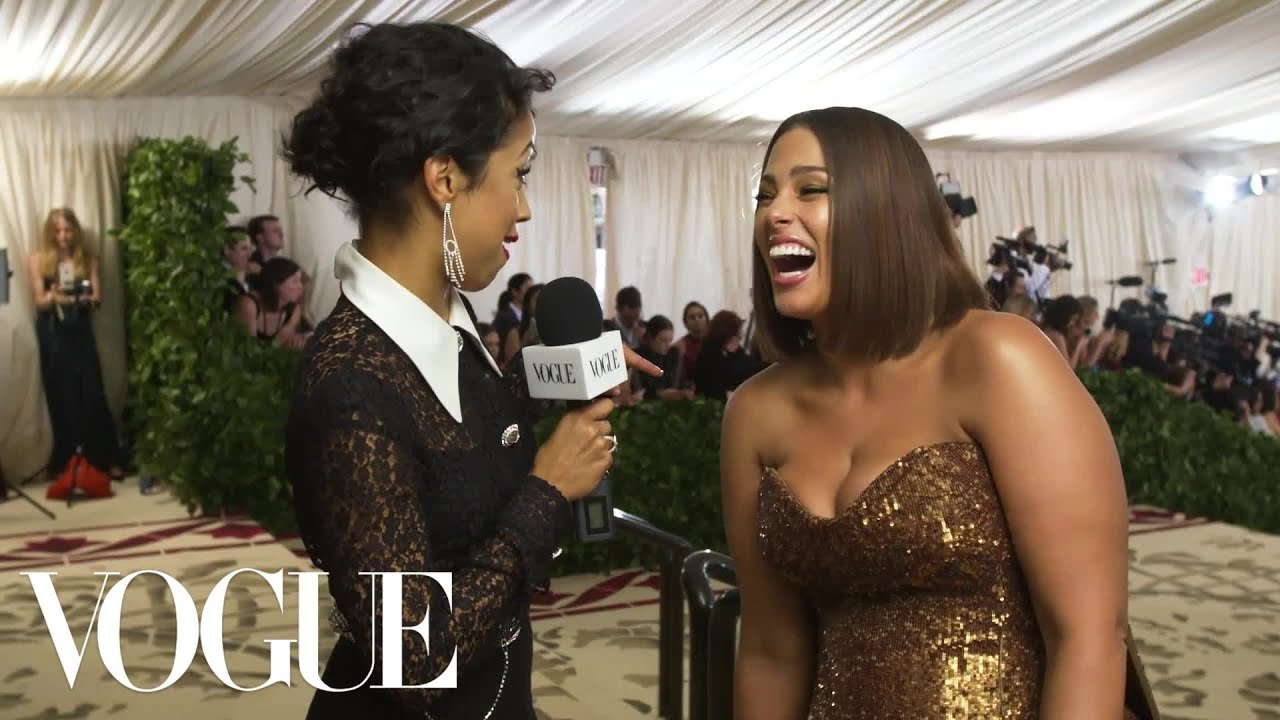 Ashley Graham on How to Survive Your First Met Gala | Met Gala 2018 With Liza Koshy | Vogue