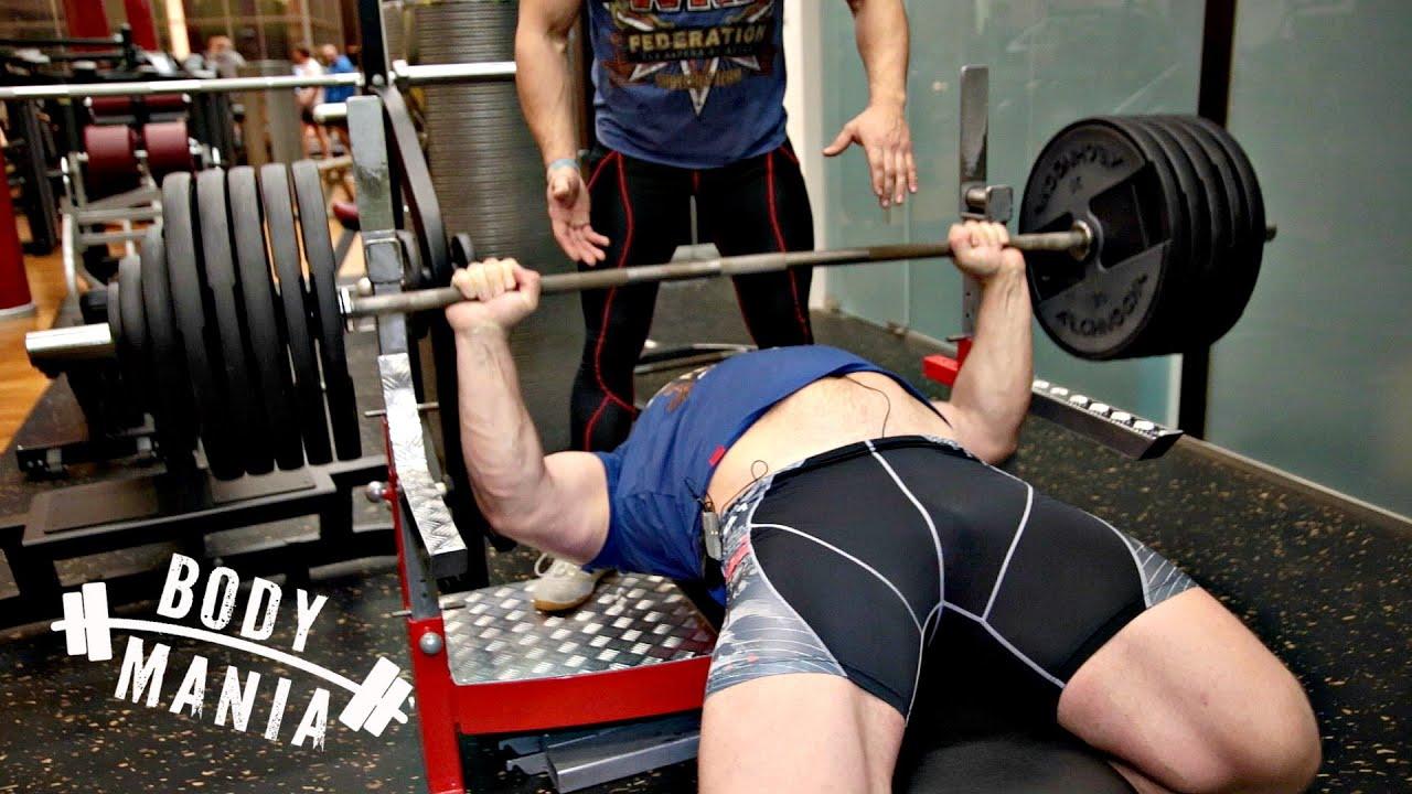 250 кг на разы! НЕЧЕЛОВЕЧЕСКИЙ ЖИМ Кирилла Сарычева