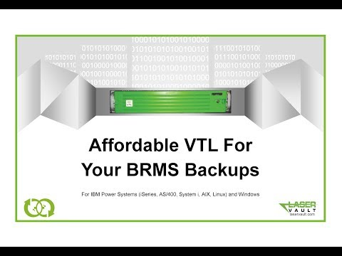 Affordable VTL For Your BRMS Backups