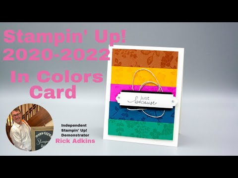 Stampin Up In Colors 2020 2022 - Lovely You Card Tutorial