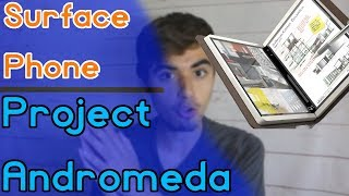 Surface Phone y Project Andromeda - Vuelven los rumores