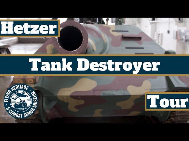 Hetzer Tank Destroyer Tour