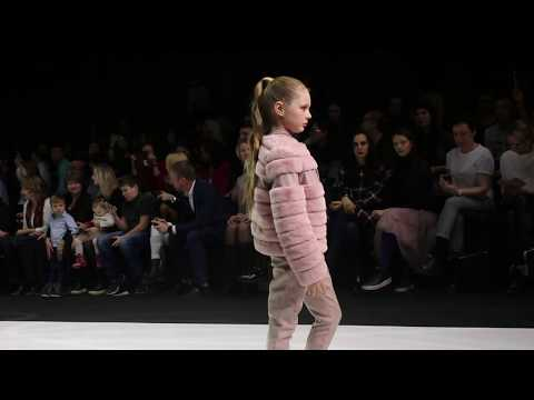 Детская одежда на Неделе моды в Москве