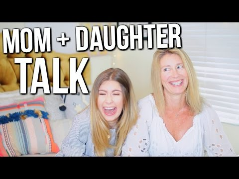 Q&A WITH MY MOM: First Kisses, Sneaking Out, Yoga