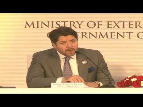 Press Conference by Foreign Minister of Afghanistan & Finance Minister of India
