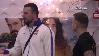 Zadruga 4 - Tomovićeva emotivna ispovest o Kariću, Mensuru, Mini i Isidori - 26.01.2021.