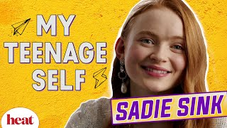 Sadie Sink Recalls Her First Kiss On Stranger Things!
