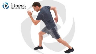 No Equipment HIIT Cardio Home Workout - Quick and Intense HIIT