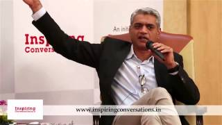 Inspiring Conversations 7 (Highlights) with Capt Raghu Raman. Interviewed by Agnelorajesh Athaide.